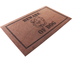 BEWARE OF DOG-DOORMAT (2)