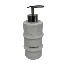 GERBERA PLY-RESIN SOAP-DISPENSER(2)